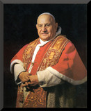 Pope John XXIII Saint Wall Plaque