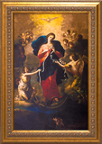 "Mary Undoer of Knots Canvas at 10"" x 16"" size"