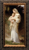 L'Innocence - Ornate Dark Framed Art