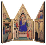 Madonna and Child Triptych Plaque