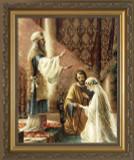 Wedding of Joseph and Mary Framed Art