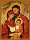 Holy Family Poster Paper Print