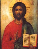 Icon of Christ print