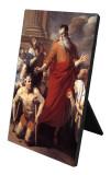 St. Paul Heals the Cripple Vertical Desk Plaque