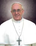 Pope Francis Formal Sleeved Print