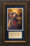 Mary Undoer of Knots with Pope Francis' Prayer Framed