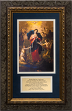 Mary Undoer of Knots with Prayer Framed