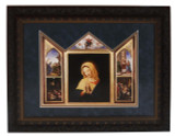 The Virgin, After Sassoferrato Matted Triptych Art