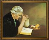 Gratitude - Standard Gold Framed Art