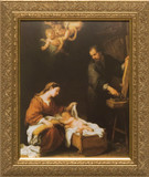 Holy Family by Murillo Framed Art