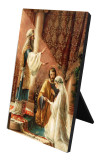Wedding of Joseph & Mary Vertical Desk Plaque