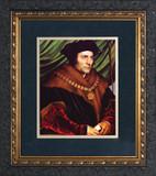St. Thomas More Matted - Ornate Dark Framed Art