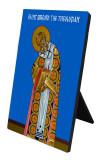 St. Gregory the Theologian Vertical Desk Plaque