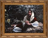 Agony in the Garden by Jason Jenicke - Ornate Gold Framed Art
