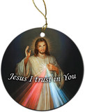Divine Mercy Ornament