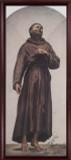 St. Francis of Assisi - Cherry Framed Art