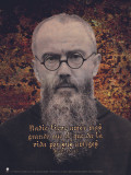 Spanish St. Maximilian Kolbe Poster