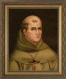 St. Junipero Serra Gold Framed Art