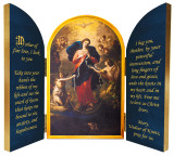 Mary Undoer of Knots Triptych Plaque