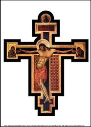 Byzantine Cross Print