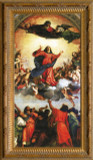Assumption of the Virgin by Titian - Ornate Gold Framed Art