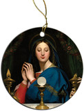 Madonna of the Host Ornament