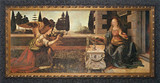 Annunciation by Da Vinci Framed Art