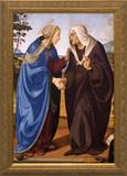 Visitation of Mary and Elizabeth Framed Art
