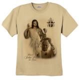 St. John Paul II and Divine Mercy T-Shirt