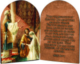 Wedding of Joseph and Mary Arched Diptych