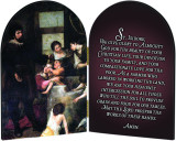 St. Isidore Farmer's Prayer Arched Diptych
