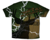 """Doing It All"" Hunting Graphic Poly T Shirt"