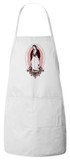 Our Lady of Guadalupe (Spanish Hail Mary) Apron (White)