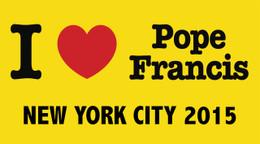 I Love Pope Francis New York City 2015  Bumper Sticker
