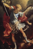 St. Michael Outdoor Image Plate