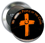 We are the People of the Cross Solidarity Button