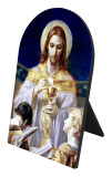 Bread of Angels Arched Desk Plaque