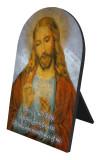 Distribution of Eucharist Arched Desk Plaque