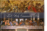 Last Supper First Communion Greeting Card