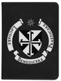 Personalized Catholic Bible with Dominican Shield Cover - Black RSVCE