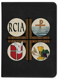 Personalized Catholic Bible with RCIA Cover - Black RSVCE