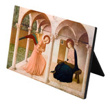 Annunciation by Bl. Fra Angelico Horizontal Desk Plaque