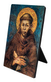 St. Francis of Assisi Vertical Desk Plaque