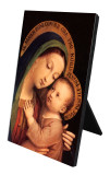 Our Lady of Good Counsel Vertical Desk Plaque