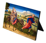 Flight Into Egypt Horizontal Desk Plaque