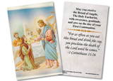 Jesus and Apostles First Communion Holy Card