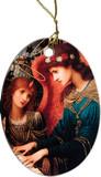 St Cecilia by Strudwick Ornament
