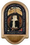 St. Thomas Aquinas Prayer Holy Water Font