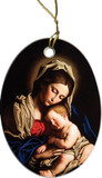 Madonna and Her Child Ornament