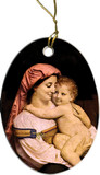Mother and Child Ornament